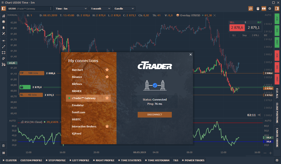 ctrader api 2.0 is ready for use in quantower platform